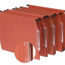 Dossiers suspendus : pour armoires ou tiroirs, cela permet de ranger les documents triés.